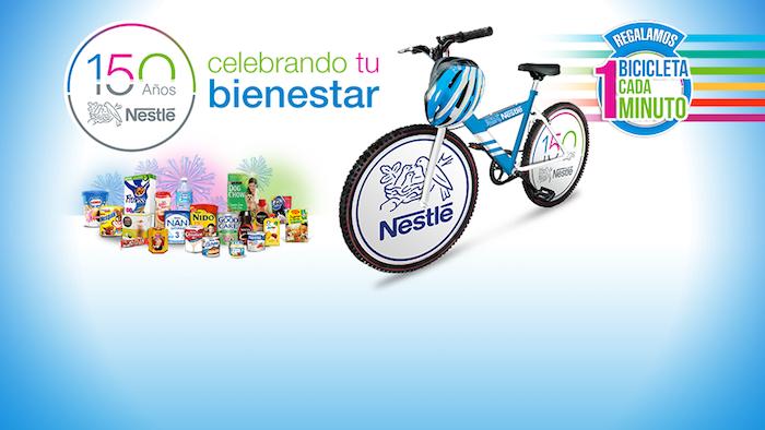 Promocion 150 bicicletas