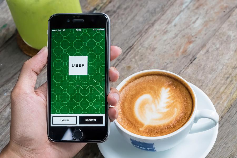 Uber, app