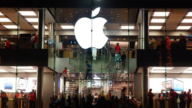 apple, tienda, retail