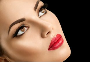 mujer, cosmeticos