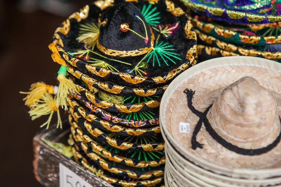sombreros, México, mexicanos, fietas