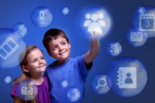 generacion Z,niños, tecnologia