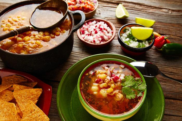 Pozole, mexico, comida, fiestas