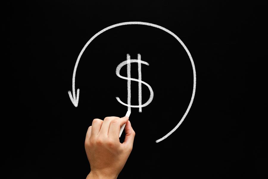 dinero, transaccion, dolar,