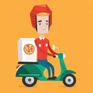 fast food, delivery, comida, entrega a domicilio
