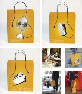 bolsa creativa, packaging