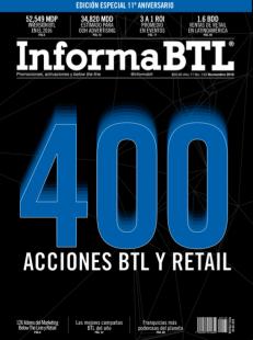 Portada 11o Aniversario InformaBTL noviembre 2016