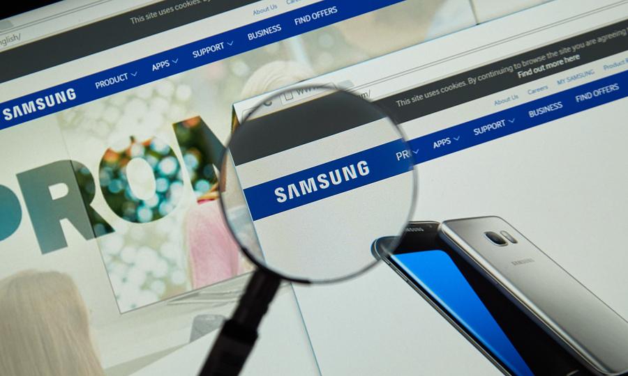 Samsung visto con lupa