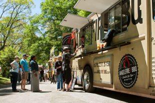 Food truck, camión de comida,