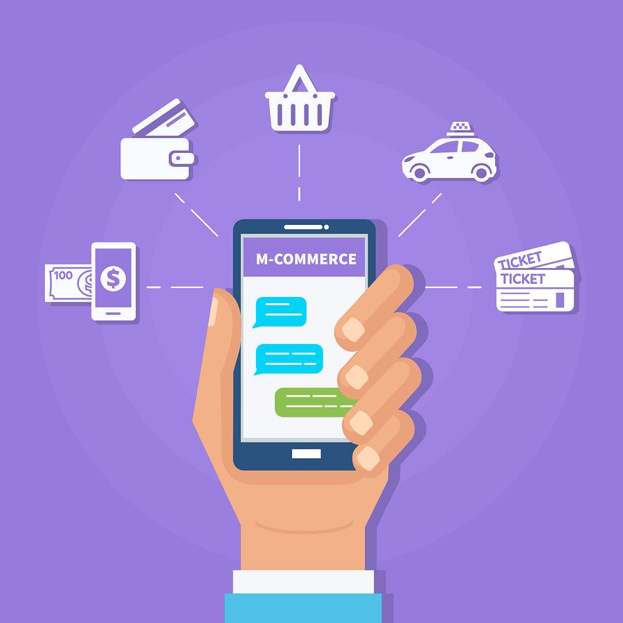 m-commerce, comercio electrónico, e-commerce