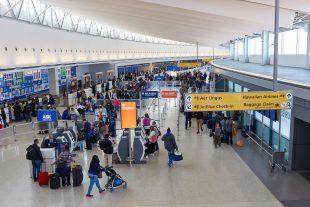 aeropuerto, pasajeros, aviones, avión