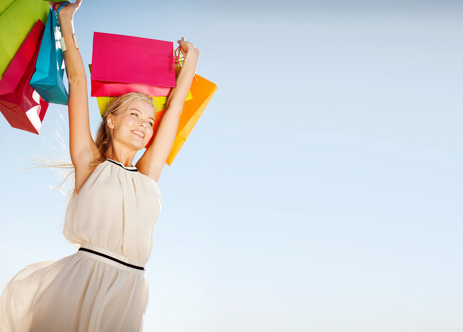 bolsas, shopper, consumidor, compras