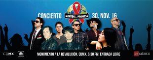Mantén la promesa, concierto contra el VIH en la CDMX