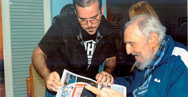 Fidel Castro usa Fila
