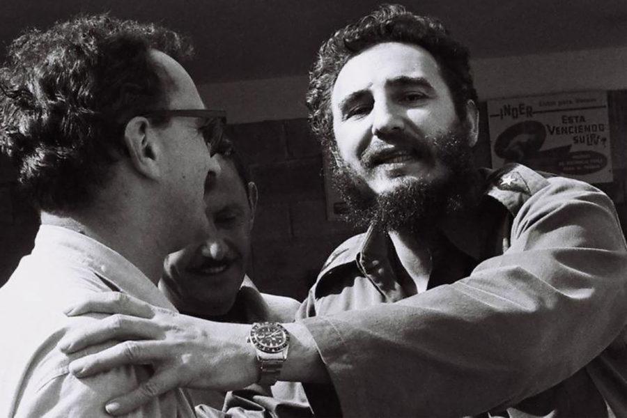 Fidel Castro con un Rolex GMT Master