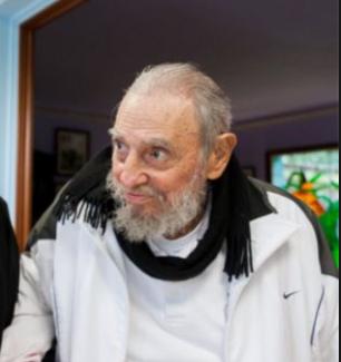 Fidel Castro usa Nike