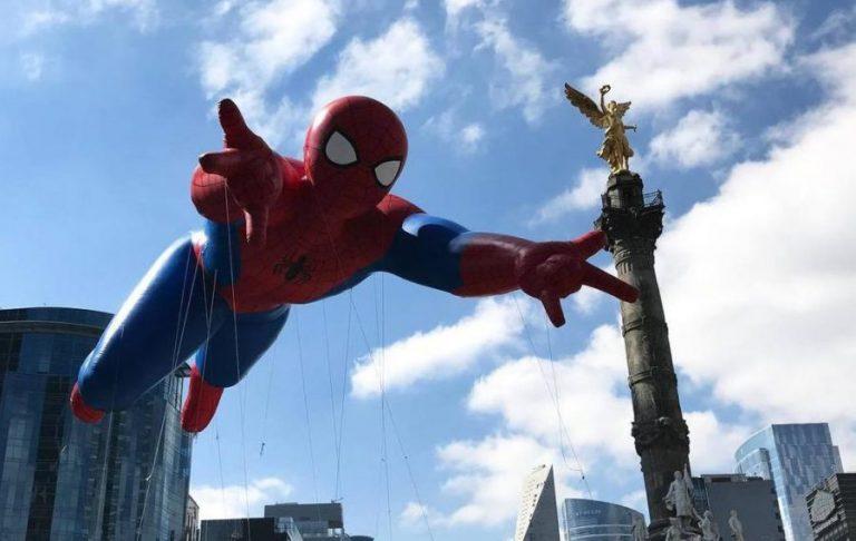 Spiderman en el Bolo Fest