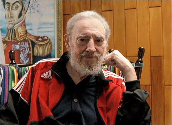 Fidel Castro viste Adidas