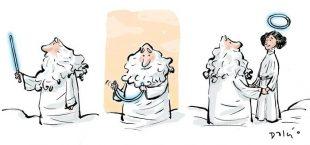 5 ilustraciones para dar el ultimo adios a Carrie Fisher