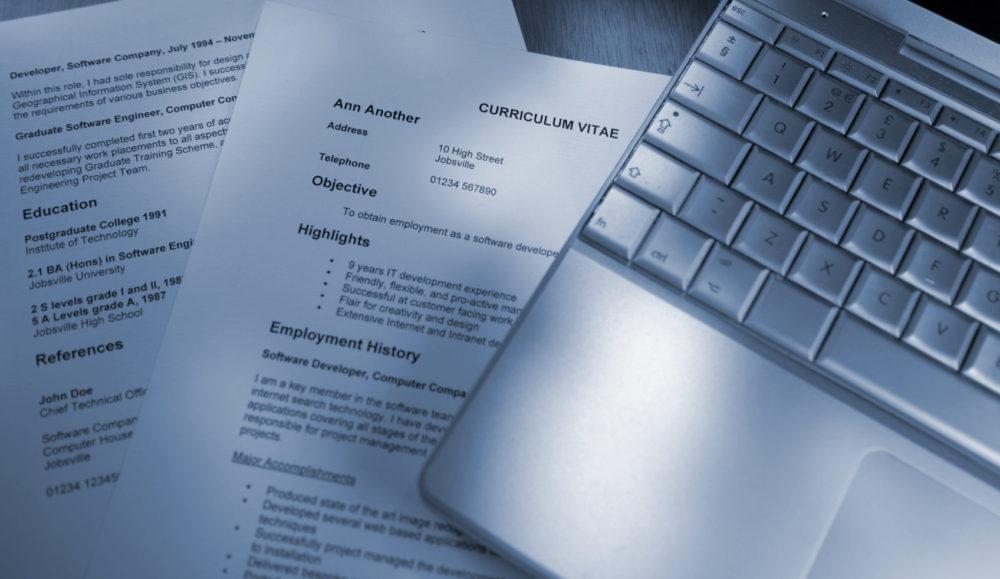 3 cosas para redactar un CV que impacte