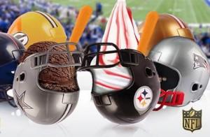Cascos de la NFL de Nutrisa