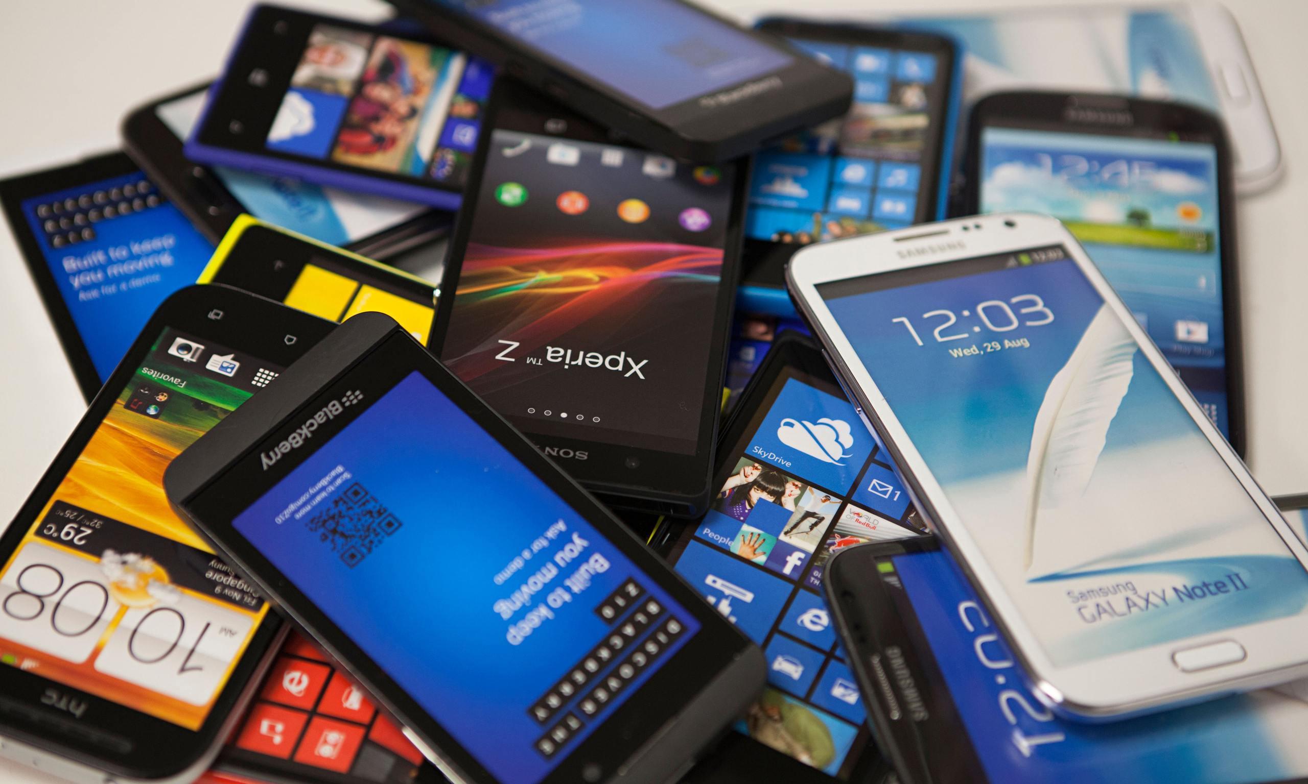 8 marcas de smartphones mas vendias en Mexico