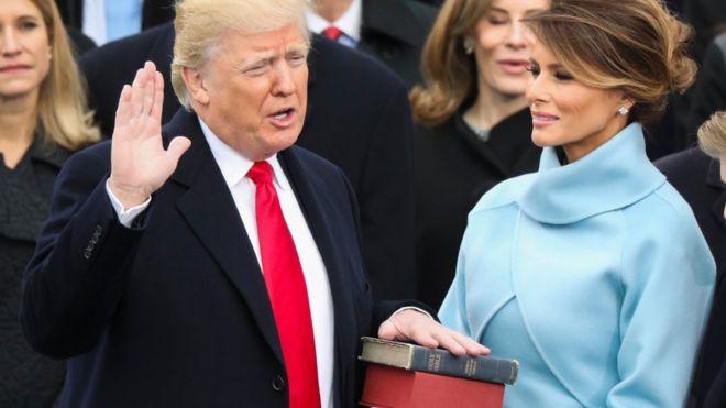 Comprar lo estadounidense y producir en EU Donald Trump