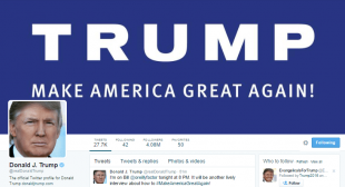 10 tweets publicados por el presidente de EU Donald Trump
