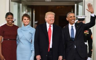 Ralph Lauren vistio a Melania Trump en toma de protesta