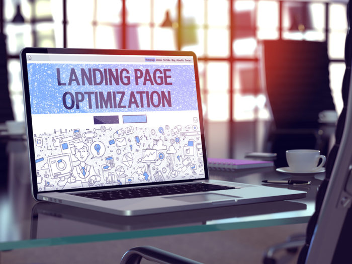 call to action landing page