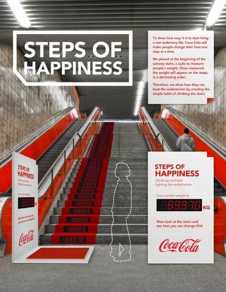 Activación de Coca-Cola en Brasil