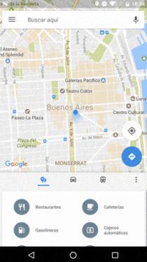 Google Maps actualización