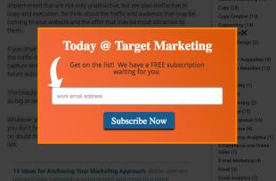 Marketing Intersticial