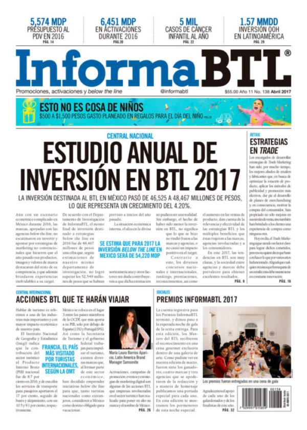 Portada InformaBTL abril 2017