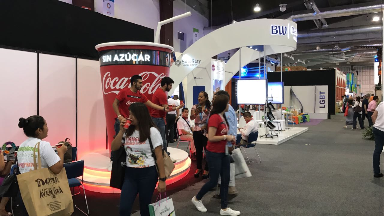 Stand Coca-Cola