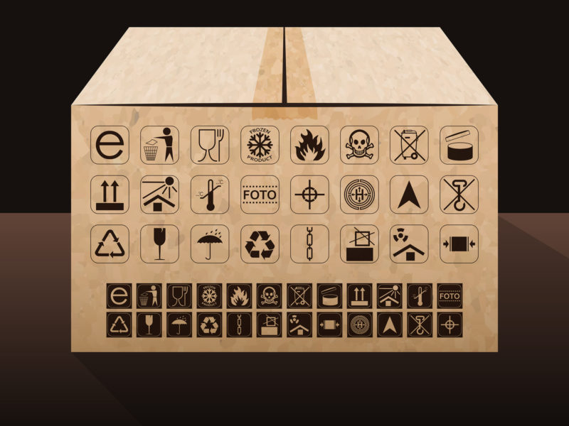 simbolos embalaje