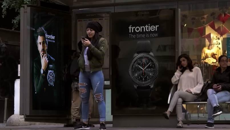 Mupi Interactivo de Samsung