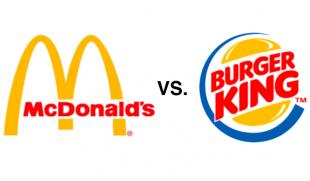 McDonalds y Burger King