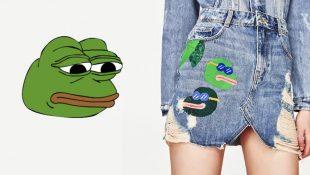 Zara y Pepe The Frog