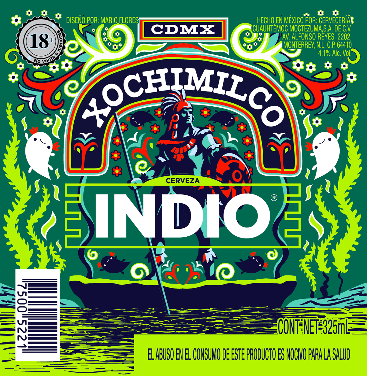 Cerveza Indio - Barrios