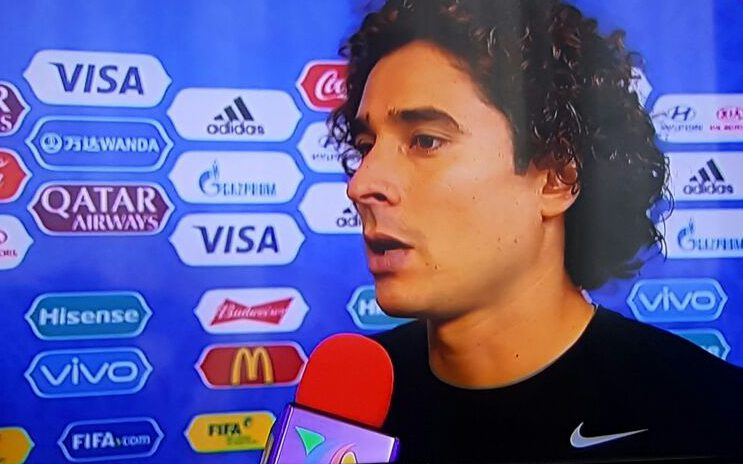 ¿Descuido o ambush marketing de Memo Ochoa?