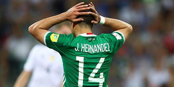 Mexico pierde en Copa Confederaciones