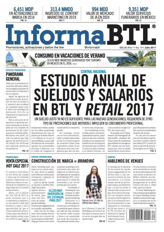 Portada InformaBTL julio 2017