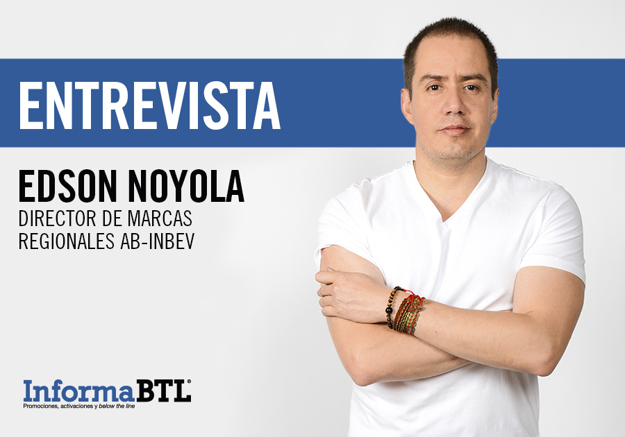 Edson Noyola, director de marcas regionales de AB-InBev