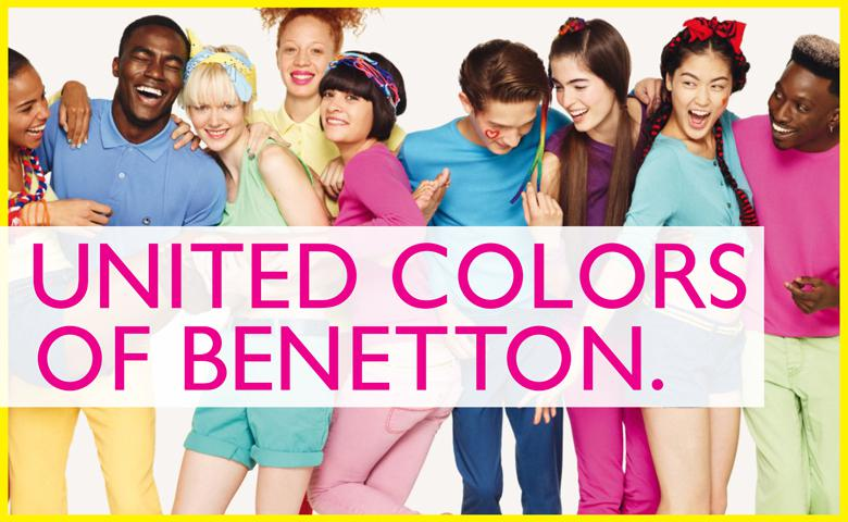 Qu nos ense an los slogan de las grandes marcas for Benetton we are colors