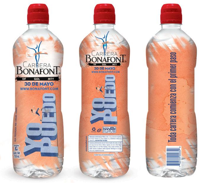 bonafont botella conmemorativa