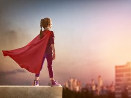 child superhero