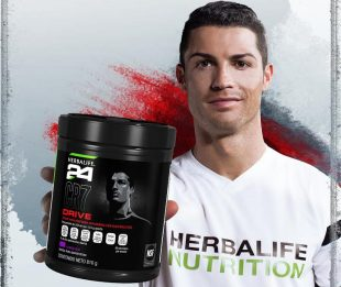 Herbalife, Cristiano Ronaldo