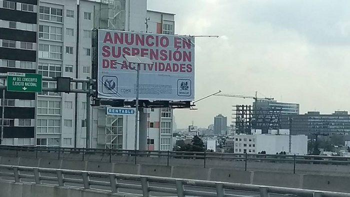 cmo afectan las vallas a la ciudad de mxico