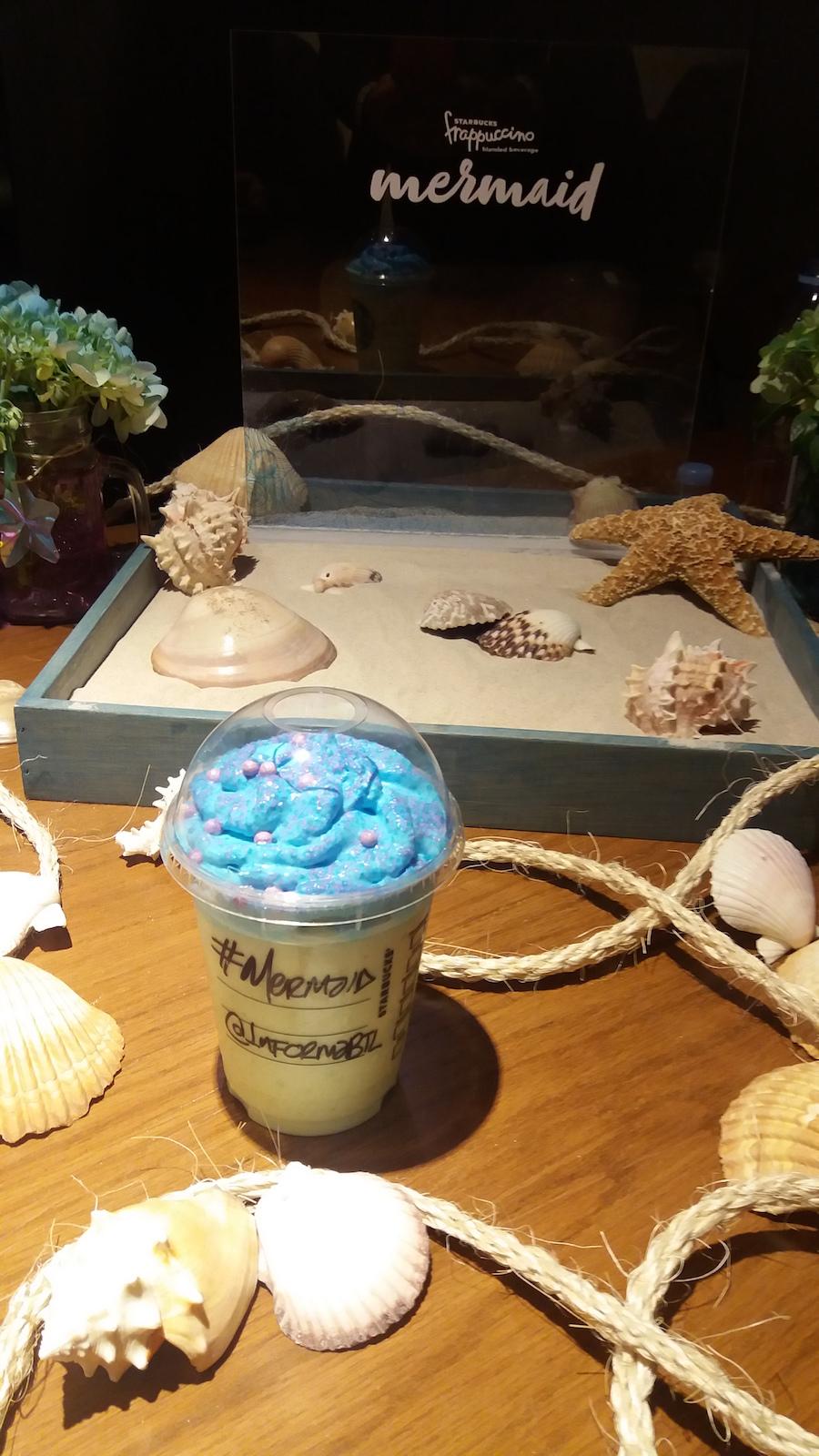 Mermaid Frappuccino Starbucks